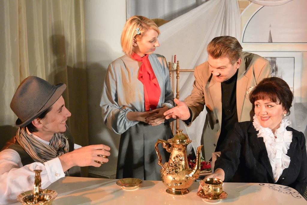 Театр Благодать спектакль Любить Есенина