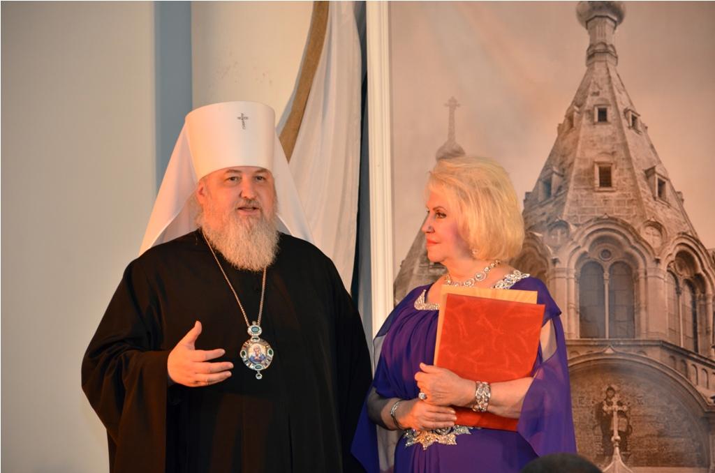 Митрополит Кирилл и В.П. Имтосими